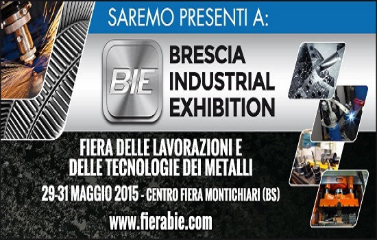 BRESCIA INDUSTRIAL EXHIBITION 2015