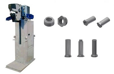 SELF-CLINCH FASTENERS AND PNEUMATIC PRESSES FOR FASTENERS INSERTION