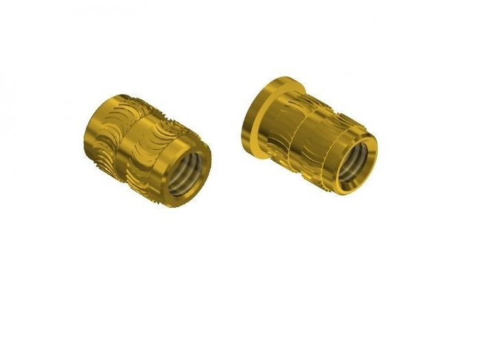THREADED INSERTS FOR PLASTIC WITH HEAT ASSEMBLY UHL_HHL